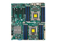 Supermicro Motherboard, EATX, DP C602 16 DIMMS-SATA 11USB IEEE 7.1HD, X9DAI-O, 13749686, Motherboards