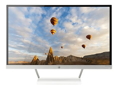 HP 27 Pavilion 27xw Full HD IPS LED-LCD Monitor, White, V0N26AA#ABA, 31078716, Monitors - LED-LCD