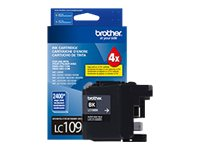 Brother Black LC109BK Innobella Super High Yield (XXL Series) Ink Cartridge for MFC-J6920DW, LC109BK, 16145183, Ink Cartridges & Ink Refill Kits