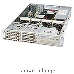 Supermicro Chassis, 2U Rackmount, SC822i-300LP, P4, 9 Bays, 7 LP Slots, 300W PS, Black, CSE-0050-B0, 6423223, Cases - Systems/Servers
