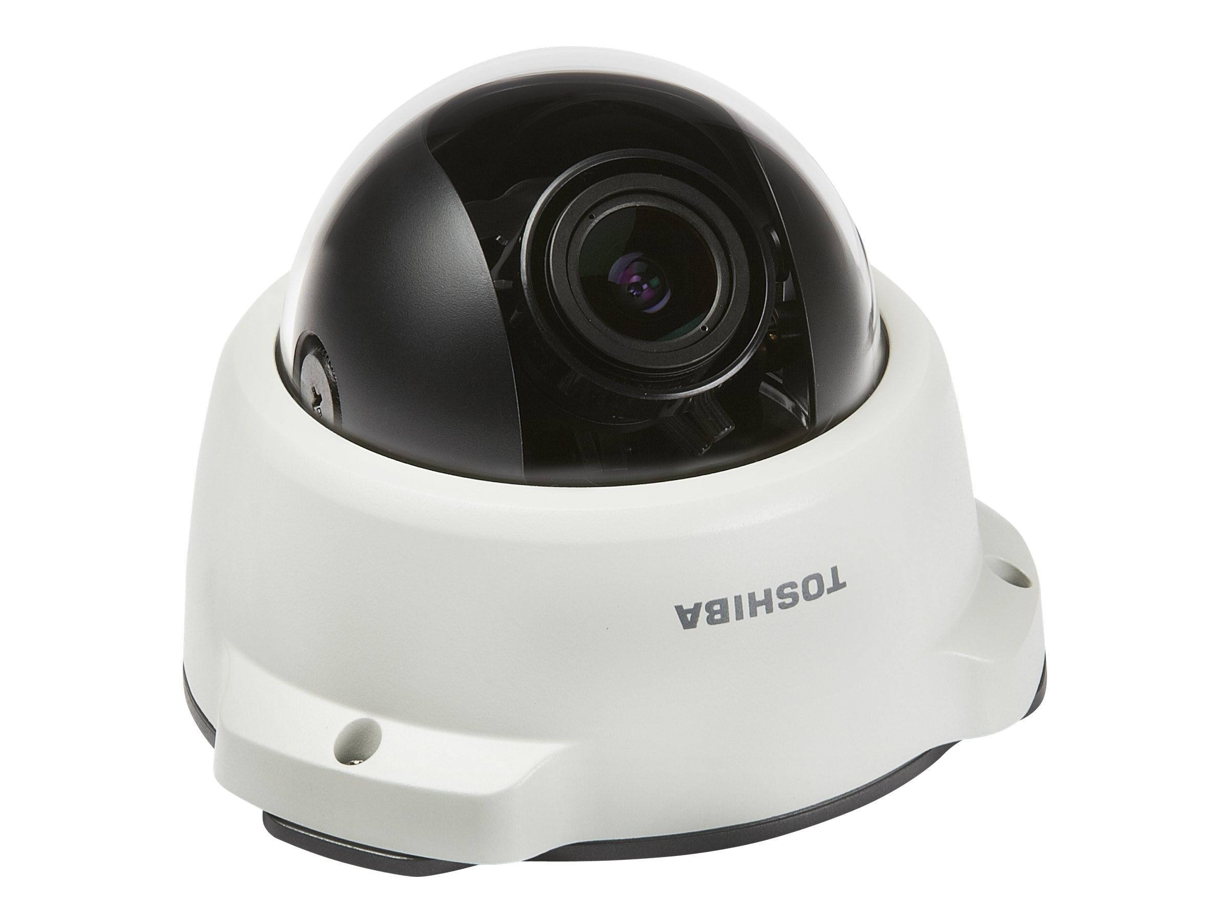Toshiba IP66 Mini-Dome Vandal-Proof Netowrk Camera, 3-12mm, IK-WR04A