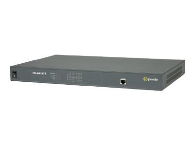 Perle IOLAN STS 16-Port RS-232 AC 10 100 1000, 04030444, 6499973, Remote Access Servers