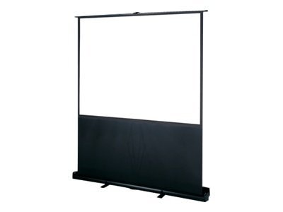 InFocus Deluxe Pull-Up Floor Projection Screen, 16:10, 90