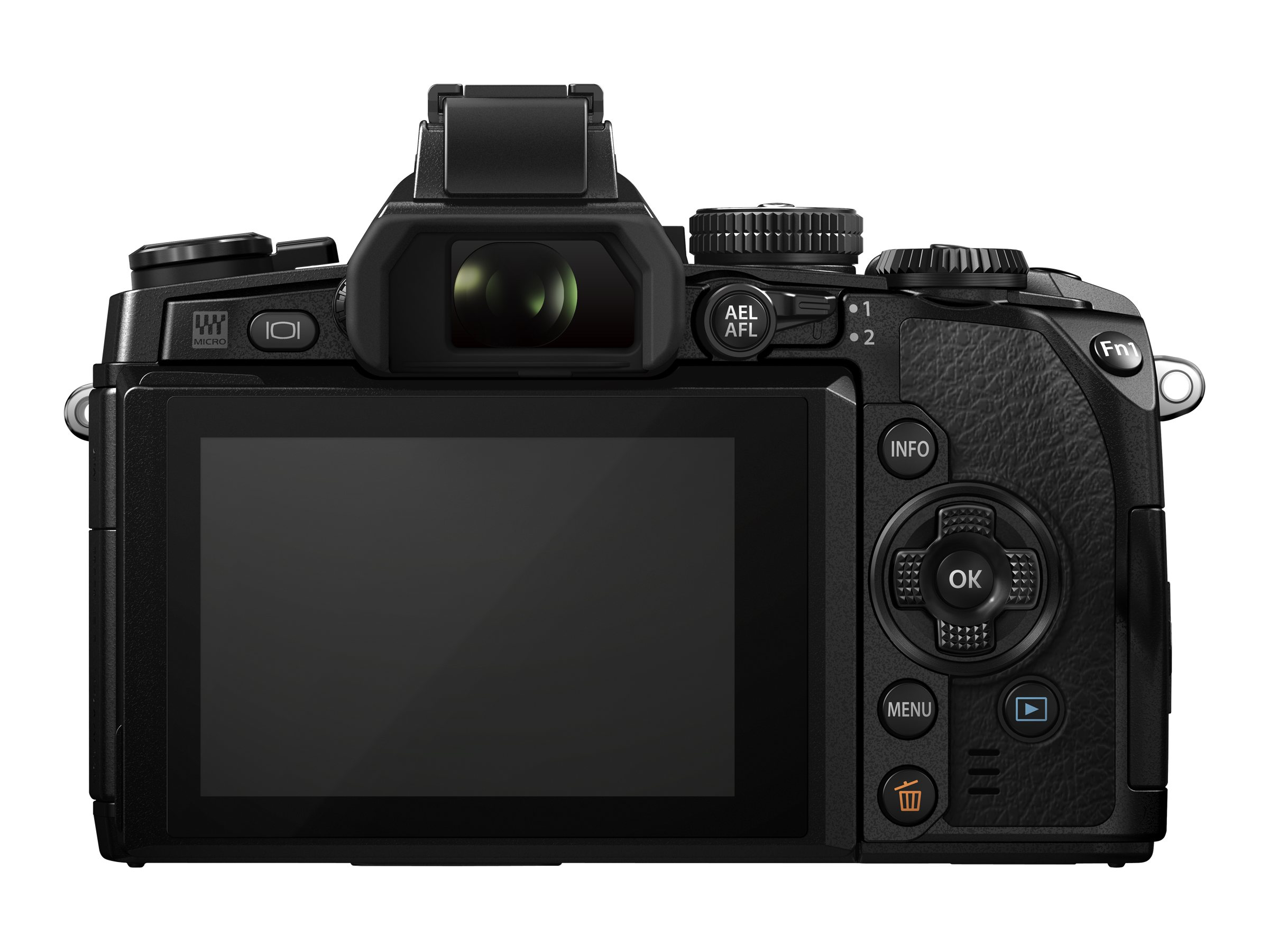 Olympus Olympus OM-D E-M1 Mirrorless Micro Four Thirds Digital Camera (Body Only), V207010BU000