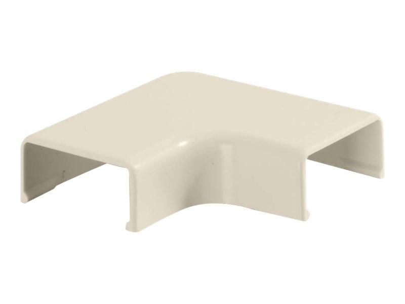 C2G Wiremold Uniduct 2700 90° Flat Elbow, Ivory