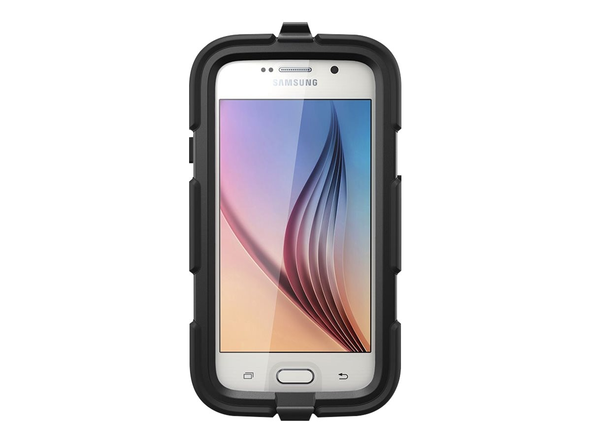 Griffin Survivor All-Terrain for Galaxy S6, Black, GB41128, 19172822, Carrying Cases - Phones/PDAs