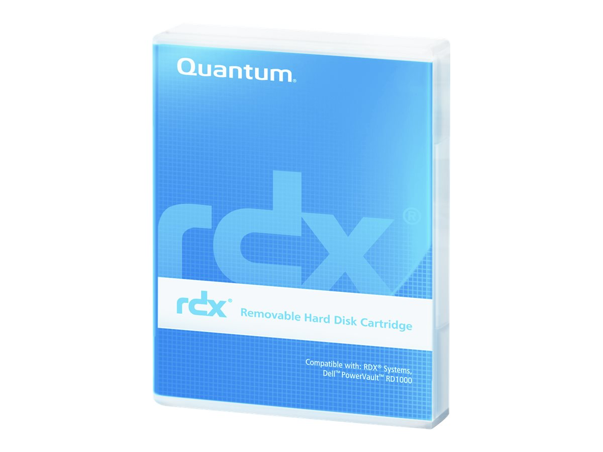 Quantum 1.5TB RDX Cartridge, MR150-A01A, 14900456, Removable Drive Cartridges & Accessories