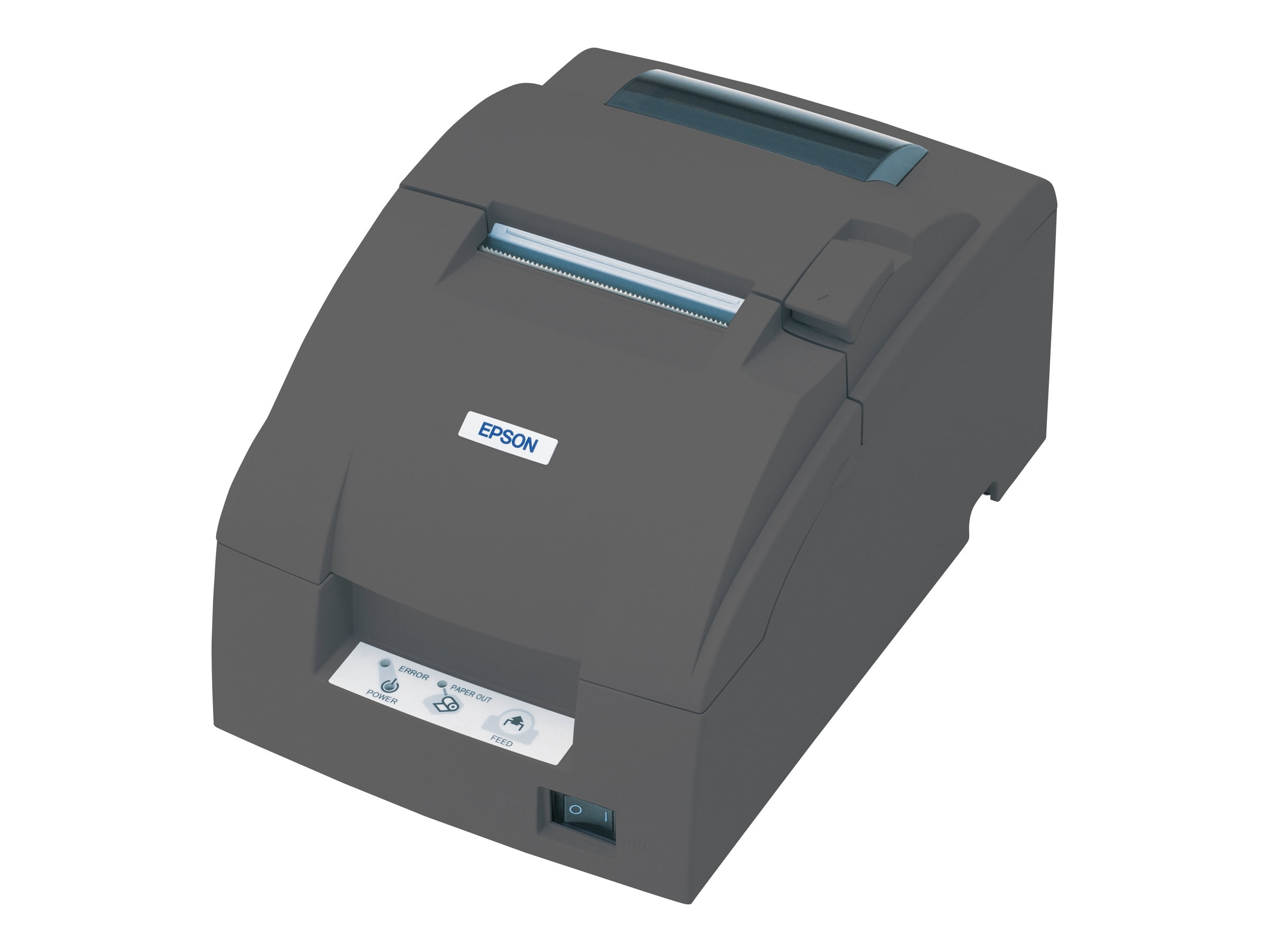 Epson TM-U220D Parallel Receipt Printer w  Power Supply- Dark Gray, C31C518653, 5191176, Printers - POS Receipt