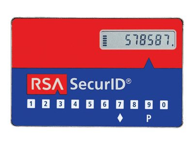 RSA 3-Year SecurID Authenticator SD520, 50-Pack, SD520-6-60-36-50, 12303480, Security Hardware
