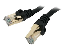 Rosewill CAT7 STP Networking Cable, Black, 10ft, RCW-10-CAT7-BK, 30979141, Cables