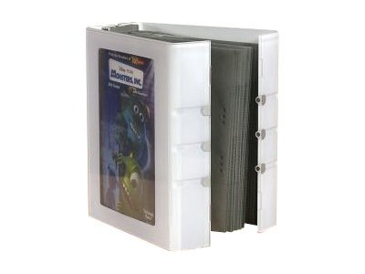 Allsop Cupertino DVD Album 40, 29312, 9799656, Media Storage Cases