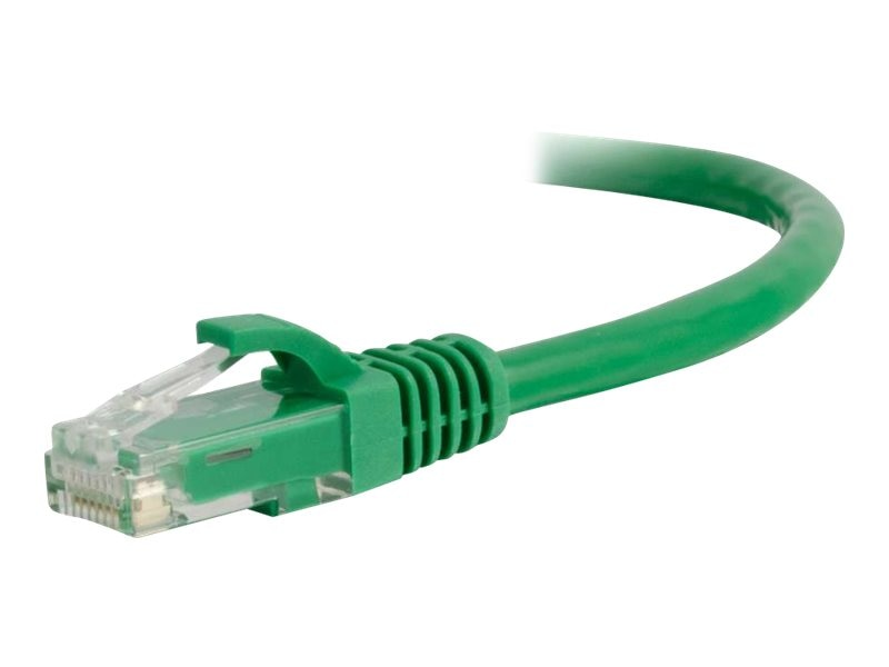 C2G Cat6 Snagless Unshielded (UTP) Network Patch Cable, Green, 10ft