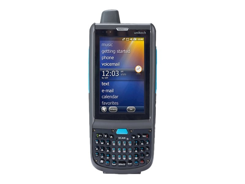 Unitech PA692 Mobile Computer, 2d Imager, Qwerty Keypad, WiFi, Bluetooth, GPS, GPRS