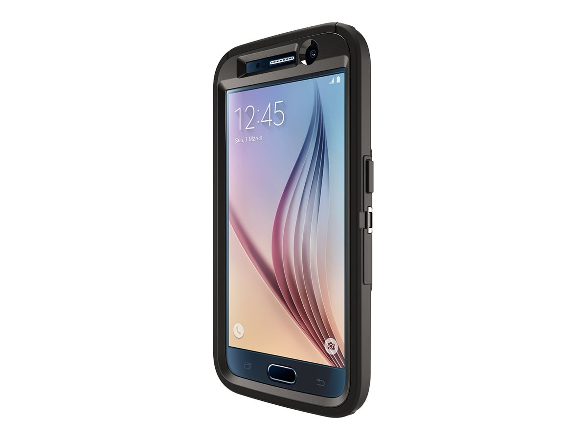 OtterBox Defender for Samsung Galaxy S6, B2B Pro Pack, Black, 77-52026, 26839120, Carrying Cases - Phones/PDAs