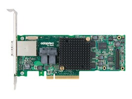 Adaptec 16-Port Low-Profile Controller with MaxCache Plus, 2277000-R, 16560512, Controller Cards & I/O Boards