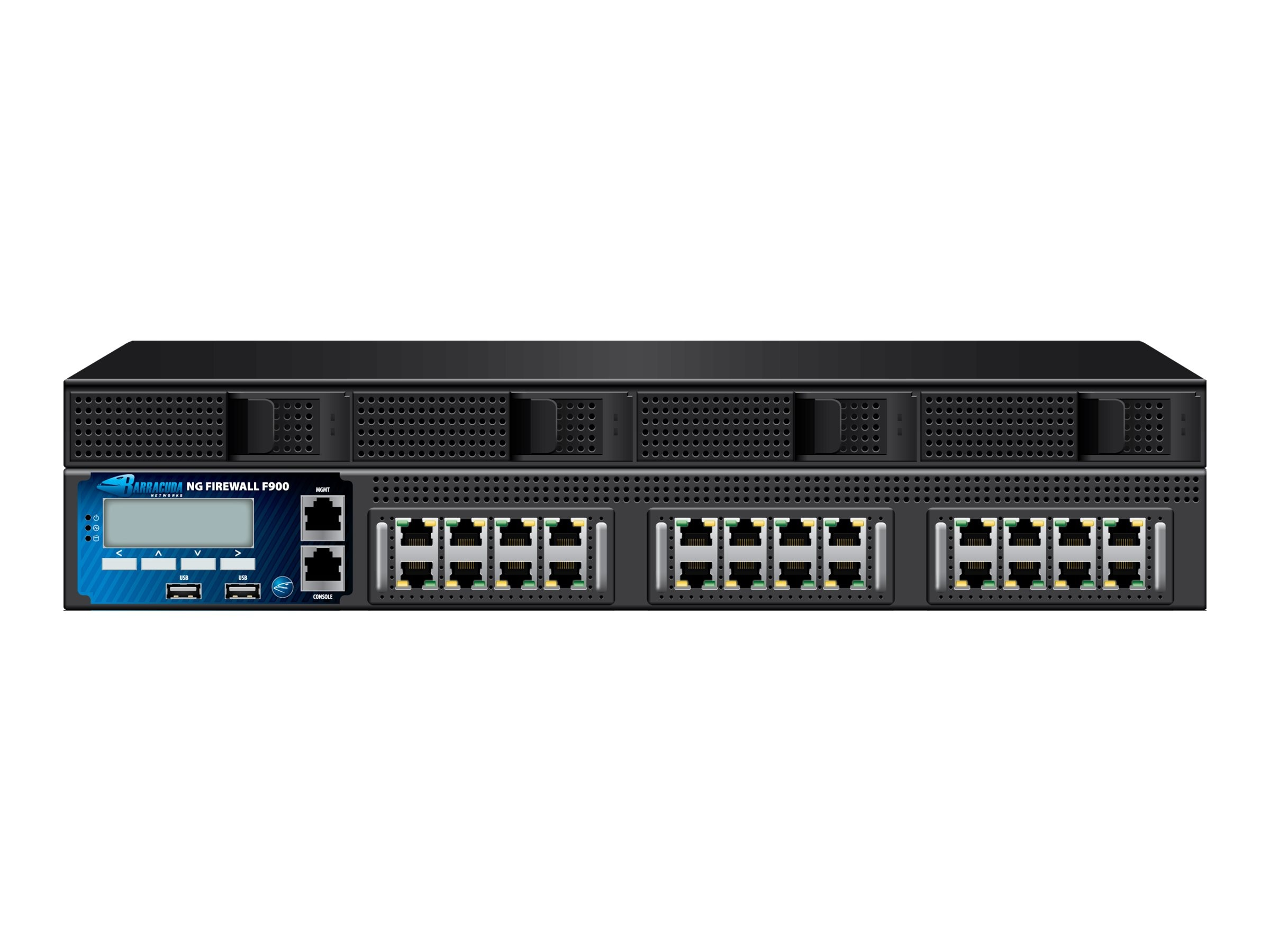 Barracuda NG Firewall F900 w 5-year Energize Updates, BNGF900A5, 13470950, Network Firewall/VPN - Hardware