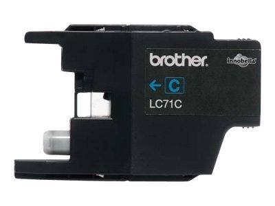 Brother Cyan Innobella Ink Cartridge for MFC-J280W, MFC-J425W, MFC-J430w, MFC-J435W, MFC-J625DW, MFC-J825DW