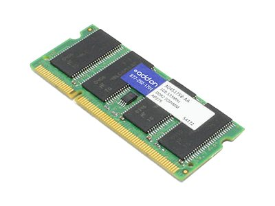ACP-EP 1GB PC2-4200 200-pin DDR2 SDRAM SODIMM, A0451758-AA