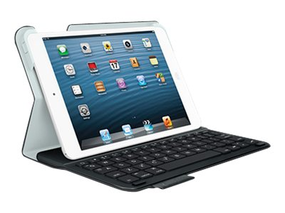 Logitech Ultrathin Keyboard Folio for iPad mini, Carbon Black, 920-005893