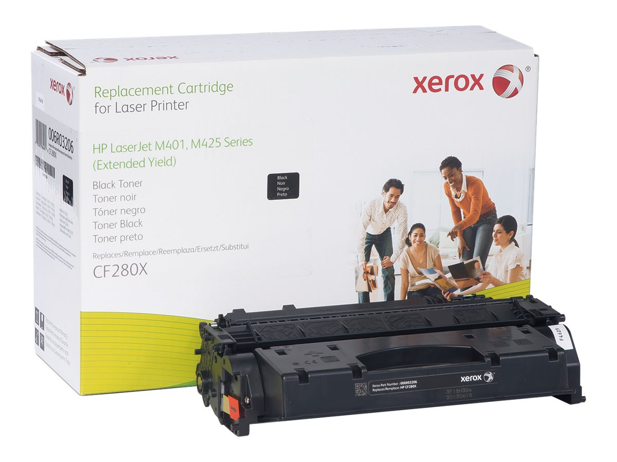Xerox CF280X Black Extended Yield Toner Cartridge for HP LaserJet Pro 400 M401 Series, 006R03206