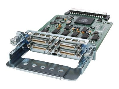 Cisco 1800 2800 3800 series 4-Port Serial High-Speed WAN Interface Card, HWIC-4T=, 5791454, Network Device Modules & Accessories