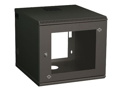 Black Box Select Wallmount Cabinet 10U, RM2413A, 5737036, Racks & Cabinets