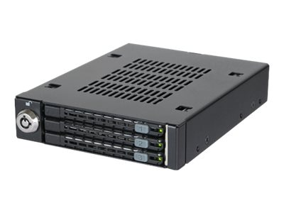 Icy Dock Triple Bay 2.5 SAS SATA Rack, MB993SK-B, 31467631, Hard Drive Enclosures - Multiple