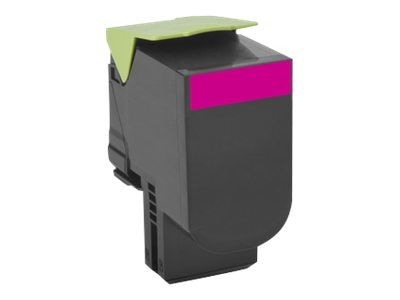 Lexmark 800X3 Magenta Extra High Yield Toner Cartridge, 80C0X30