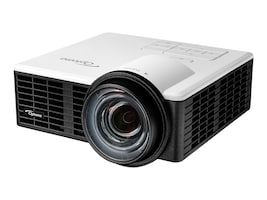 Optoma ML750ST WXGA 3D DLP Projector, 800 Lumens, White Black, ML750ST, 31123417, Projectors