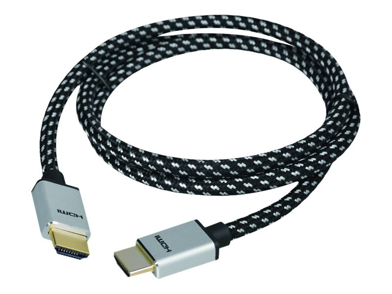Siig Woven Braided High Speed HDMI M M Cable, 2m