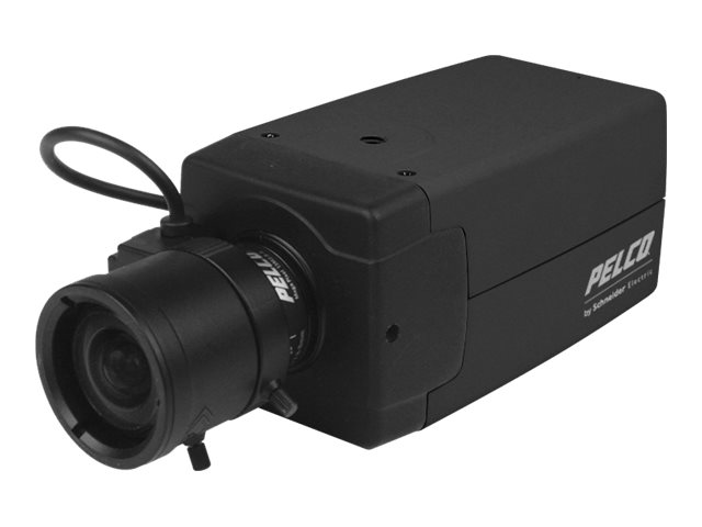 Pelco BColor High Resolution 1 3 12 24V NTSC Box Camera