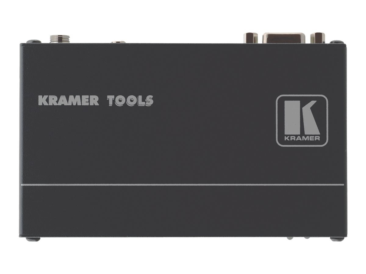 Kramer Computer Graphics Video and Stereo Audio over Twisted Pair Transmitter, TP-121XL, 30628376, Video Extenders & Splitters