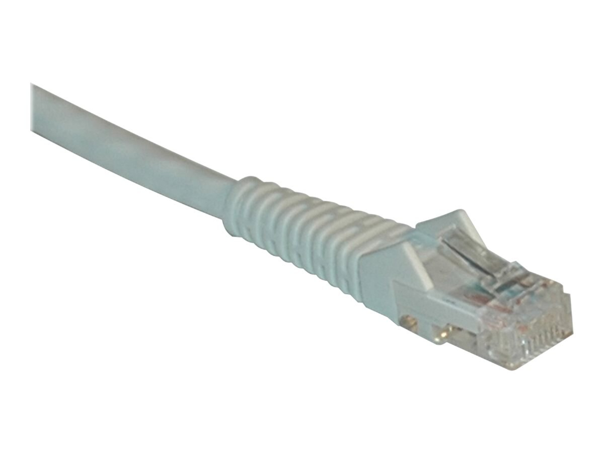 Tripp Lite Cat6 Gigabit Patch Cable, RJ-45 (M-M), Snagless, White, 1ft, N201-001-WH