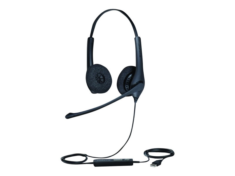 Jabra BIZ 1500 Duo QD Headset, 1519-0157