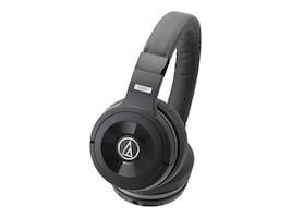 Audio-Technica SolidBass Over-Ear Bluetooth Headphones w  Controls, ATH-WS99BT, 33251738, Headsets (w/ microphone)
