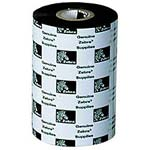 Zebra 2.36 Black 3200 Wax Resin Print Ribbons (6-pack), 03200BK06045, 6480279, Printer Ribbons