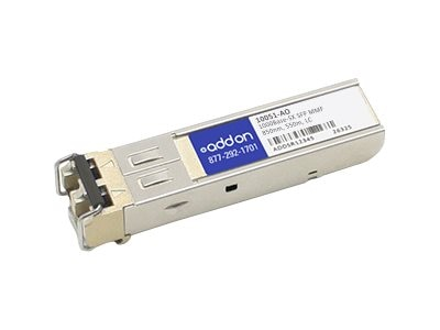 ACP-EP SFP 550M SX LC 10051 TAA XCVR 1-GIG SX MMF LC Transceiver for Extreme, 10051-AO