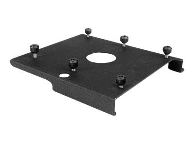Chief Manufacturing Custom RPA Interface Bracket, Black