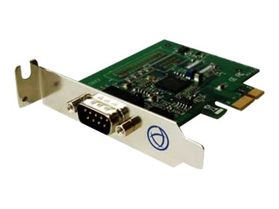 Perle 1-Port DB9 LP PCI Express RS232 16C950 Speed 1 LE Express with Bracket, 04003140, 8564863, Controller Cards & I/O Boards
