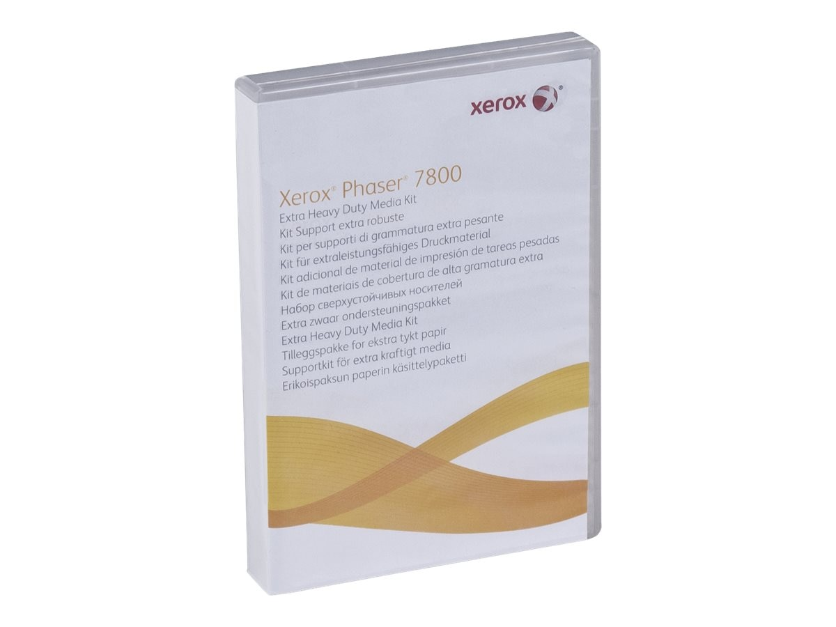 Xerox Extra Heavy Duty Media Kit for Phaser 7800 Series Printers, 097S04341