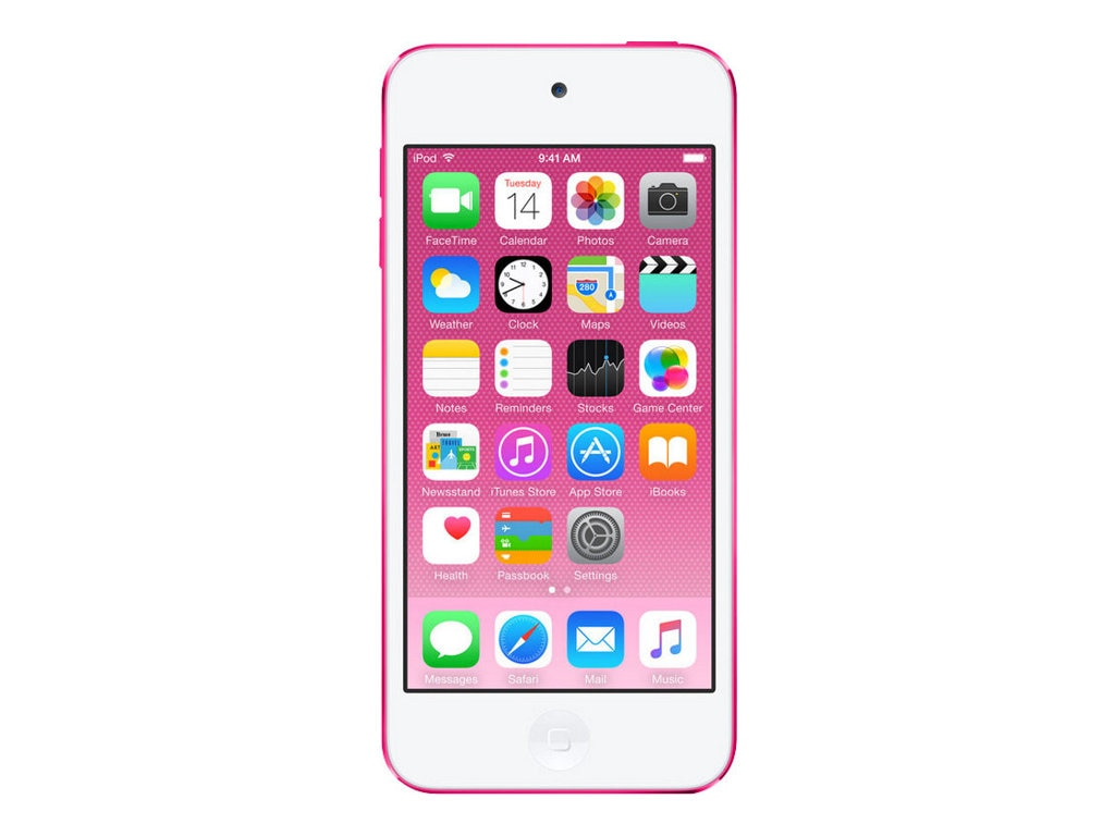 Apple 64GB iPod touch - Pink, MKGW2LL/A, 26411668, DMP - iPod Touch