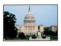 Draper Clarion Fixed Tension Projection Screen, M1300, 16:9, 119in, 252137, 8891821, Projector Screens