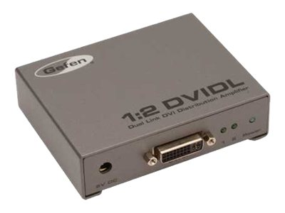 Gefen 1:2 Dual Link DVI Distribution Amplifier, EXT-DVI-142DLN