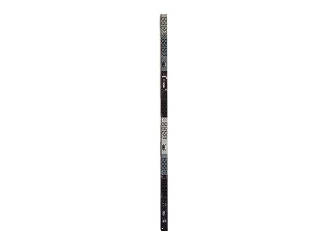 Tripp Lite Monitored PDU, 208 120V 8.6kW 3-Ph, 0U, L21-30P 6ft, (36) C13, (6) C19, (3) 5-15 20R Outlets, TAA