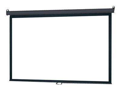 InFocus Deluxe Pull-Down Floor Projection Screen, 16:10, 94