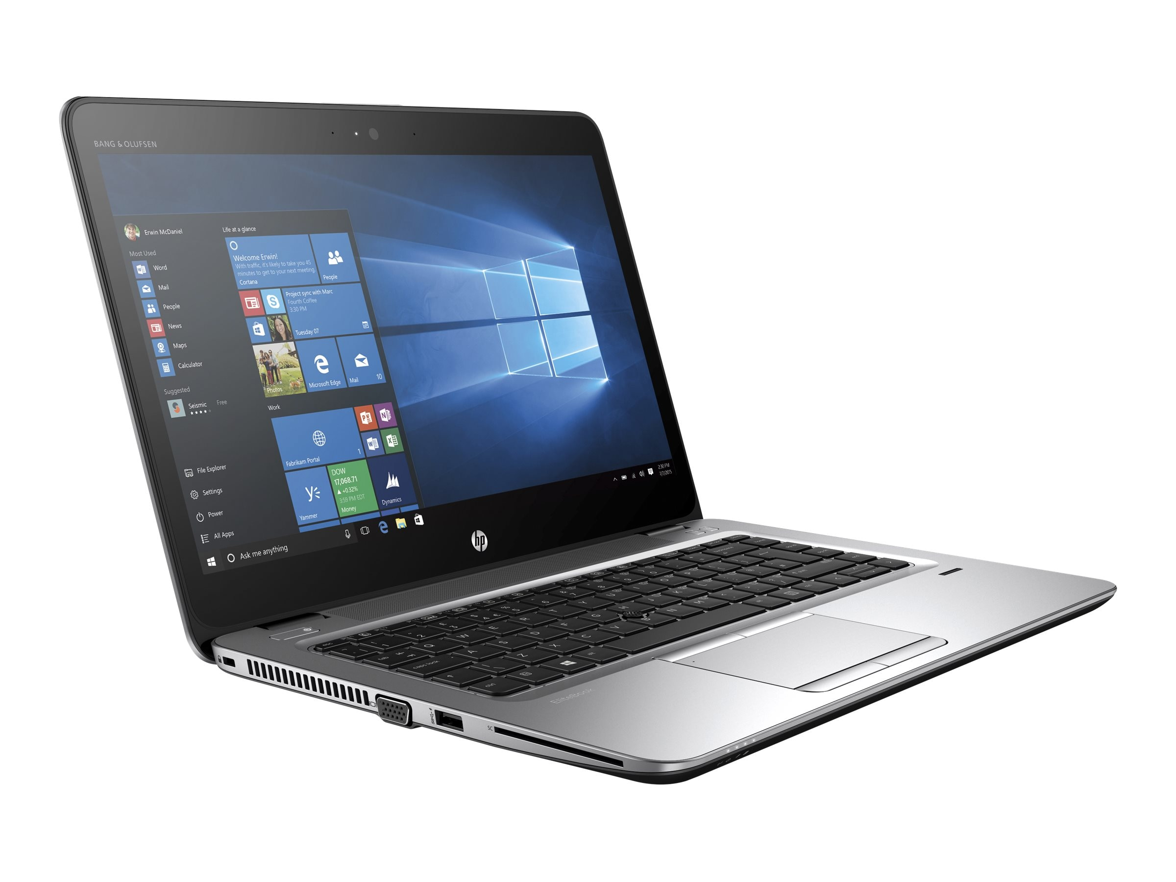 HP EliteBook 745 G3 1.6GHz A8 14in display, P5W11UT#ABA