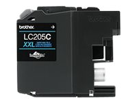 Brother Cyan LC205C Super High Yield Ink Cartridge