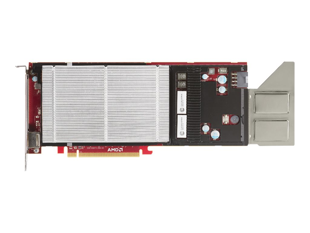AMD FirePro S9050 PCIe 3.0 x16 Graphics Card, 12GB GDDR5