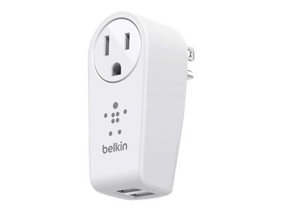 Belkin Boost-Up Swivel Charger, (2) USB Charging Ports + 5-15P Outlet