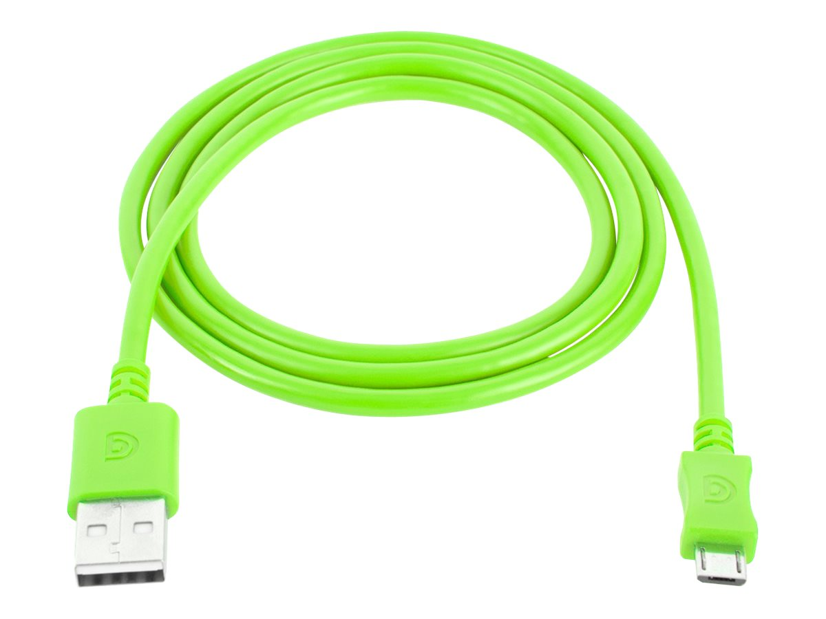 Griffin USB Type A to Micro USB M M Cable, Green, 3ft